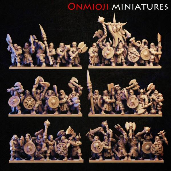 Dark Champions - Full Marauders Regiment (God of Rage)