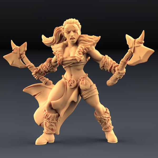 Barbarian Blademaster - A