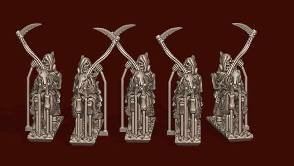 Vampire Lords - Individual Scythe Rider Knights