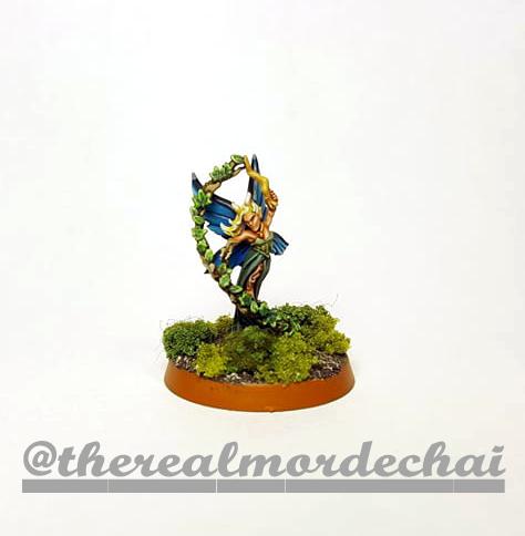 Elves of the Wood Fae Sorceres Hero