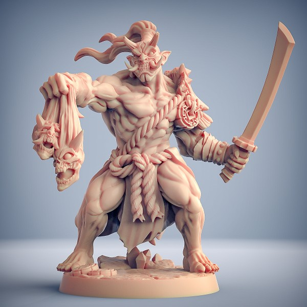Oni Clan Gruntling - B