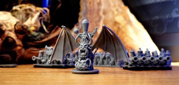 Chaos Dwarves -General/Sorcerer on Lammasu