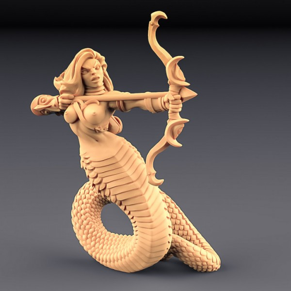 Snakewoman Archer - A