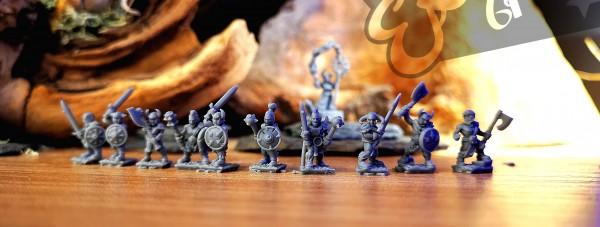 Dark Champions - Individual Light Infantry (Undivided)