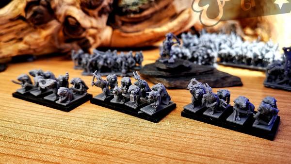 Vermin Clans - Full Assassin Rats Regiment