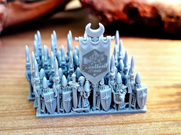 Noble Elves - Full Infantry Regiment 2