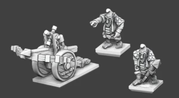 Chaos Dwarves -Hobgoblin Bolthrower