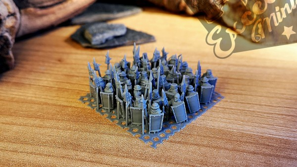 Empires of Man - Individual Men-at-Arms Soldiers Pack