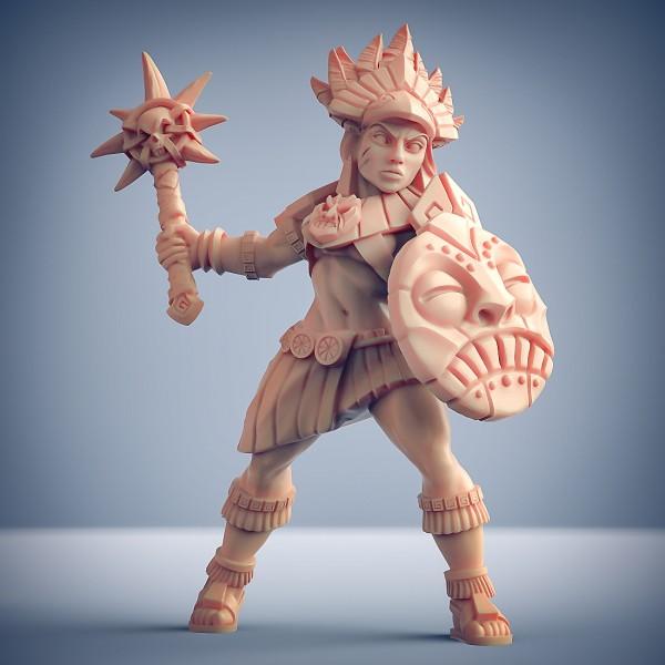 Inca Warrior - A