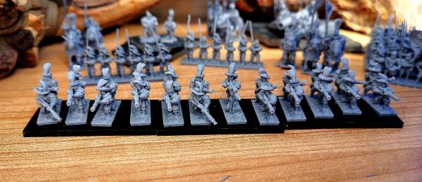 Empires of Man - Full Handgunners Regiment (XM Style)