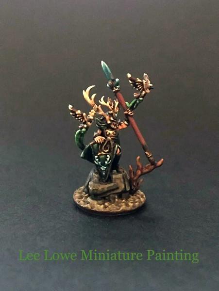 Elves of the Wood General on Foot Hero