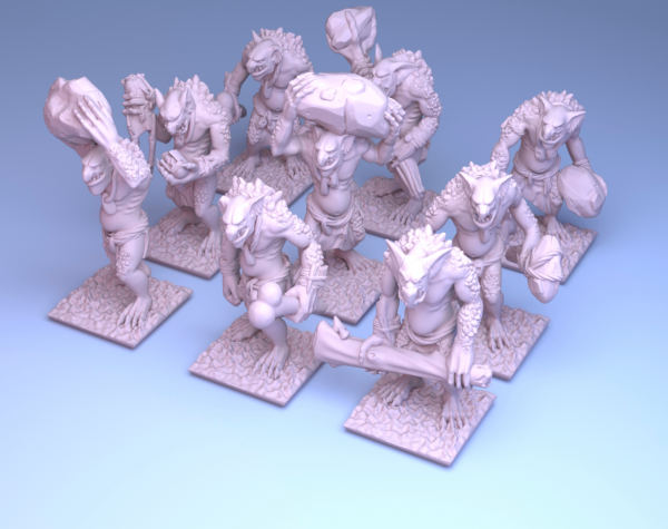 Orcs&Goblins - Full Individual Troll Regiment