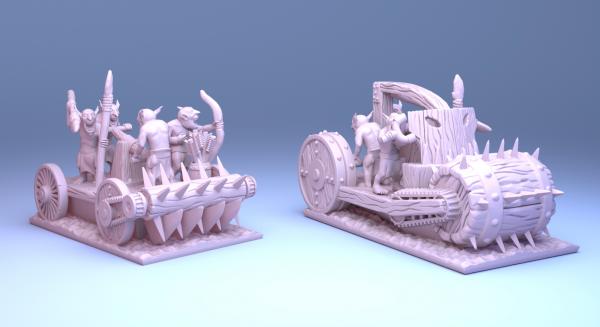 Orcs&Goblins - Pump Wagons
