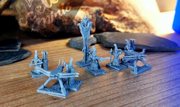 Noble Elves - Full Bolt Thrower Regiment XM