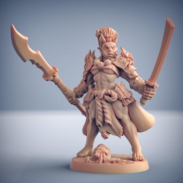 Oni Clan Gruntling - D