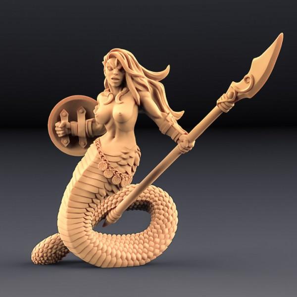 Snakewoman Guard - B