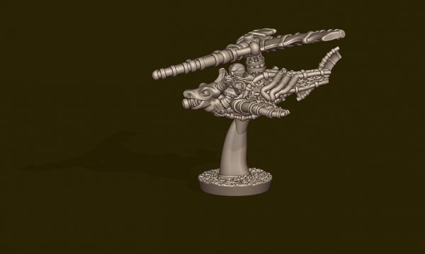 Dwarven Lords - Dragon Chopper Copter