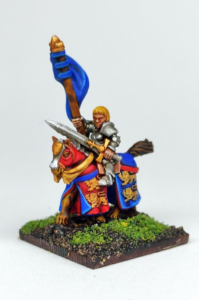 Empires of Man - Female Knight Hero on Horse