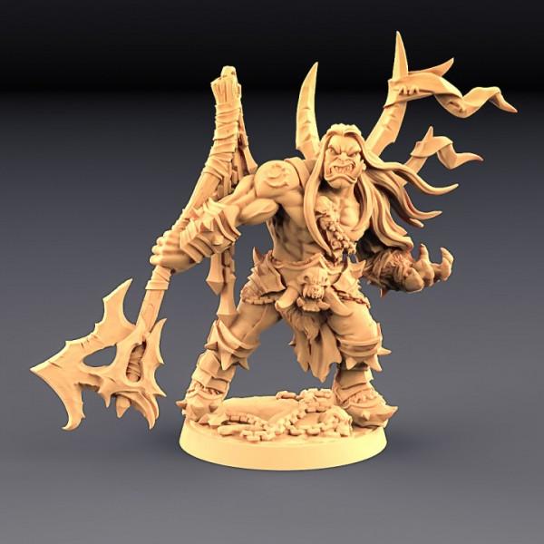 Thogar the Chainbreaker - Orc Barbarian Hero