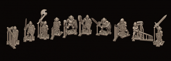 Empires of Man - Individual Householdguard Soldiers