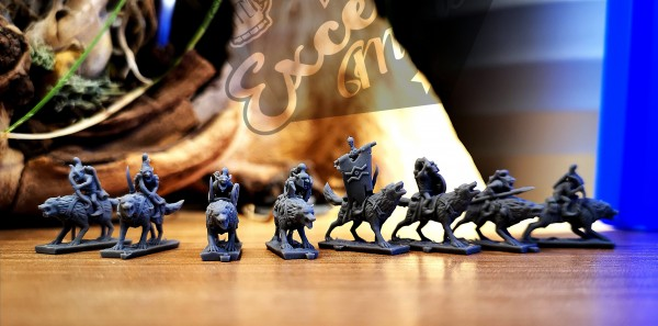 Orcs&Goblins - Individual Goblin Wolf Riders