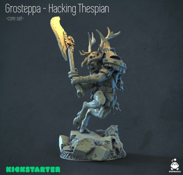 Grosteppa - Hacking Thespain