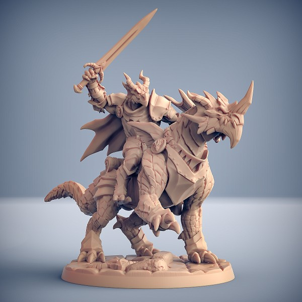 Dragonling Knight - A