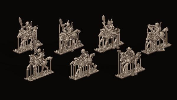 Empires of Man - Individual Light Cavalry 1 - FD