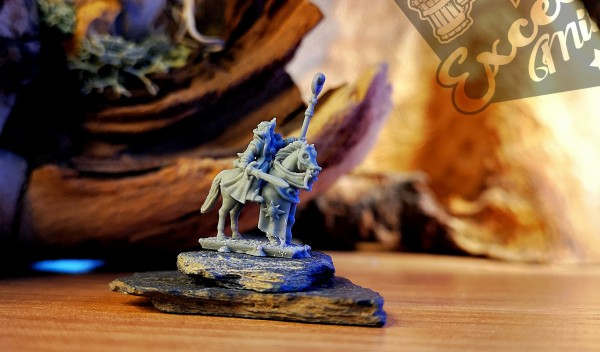 Noble Elves - Sorceress on Horse