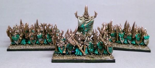 Vampire Lords - Heavy Skeleton Full Regiment 2