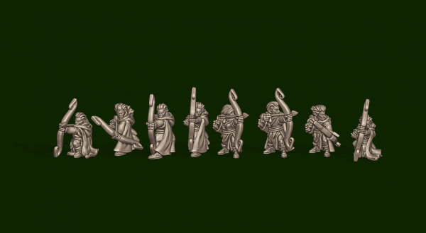 Elves of the Wood - Individual Archers Soldiers Pack