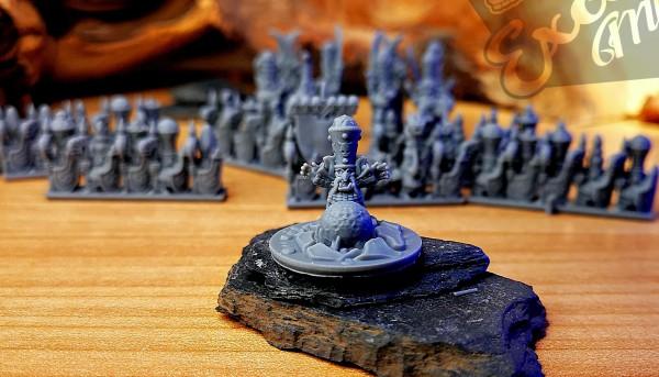 Chaos Dwarves - Mage Hero