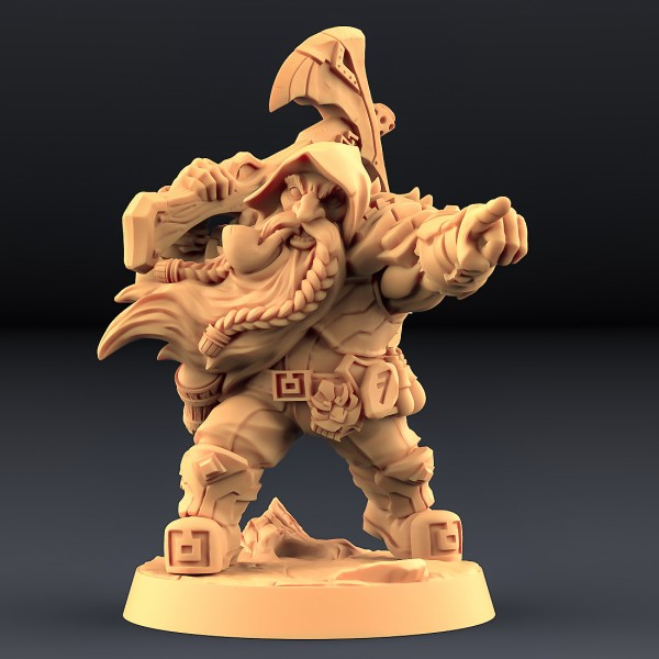 Dwarf - Oathbreaker - A