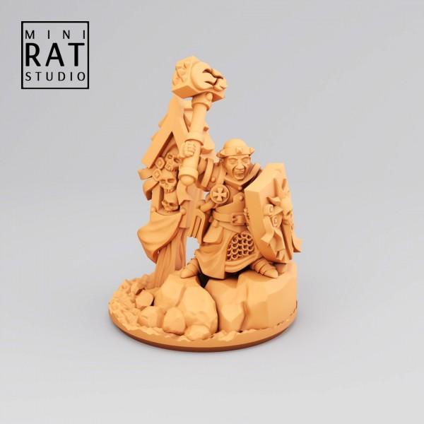 Empires of Man - Warrior Priest (MIniRat Style)
