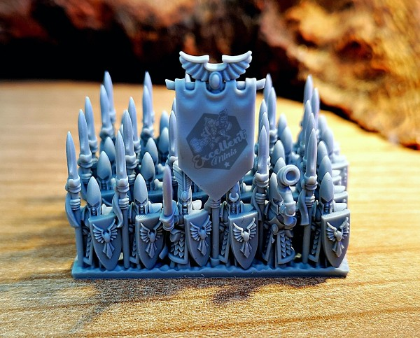 Noble Elves - Full Infantry Regiment 1