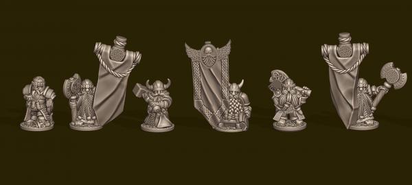 Dwarven Lords - Individual Heroes
