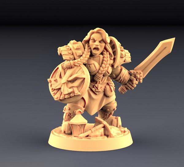 Dwarven Defender - C (Female)