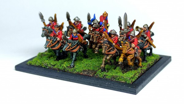 Empires of Man - Light Cavalry 2 (mounted Squires)