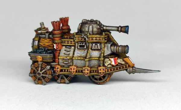 Empires of Man - Clockwork Tank
