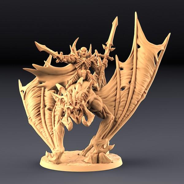 Drakenmir on Bloodhunter Dire Bat (variant 1)