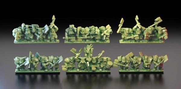 Orcs&Goblins - Black Orcs Regiment 2
