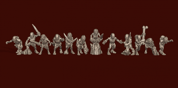 Vampire Lords - Individual Ghouls