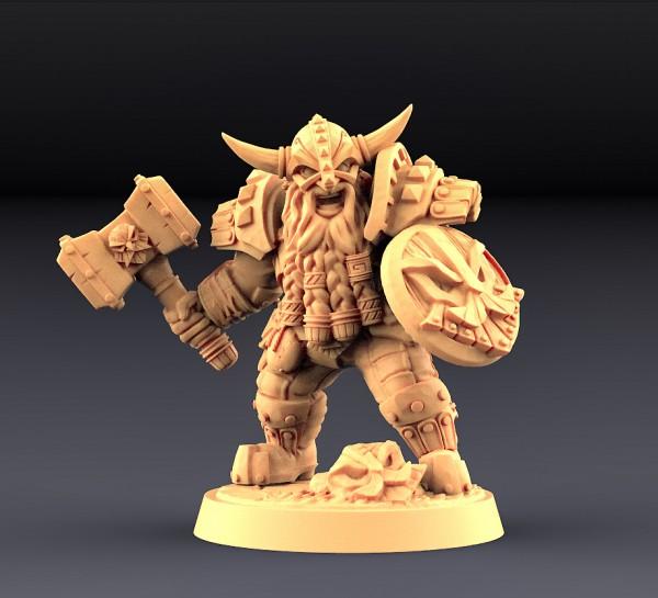 Dwarven Defender - A (Male)