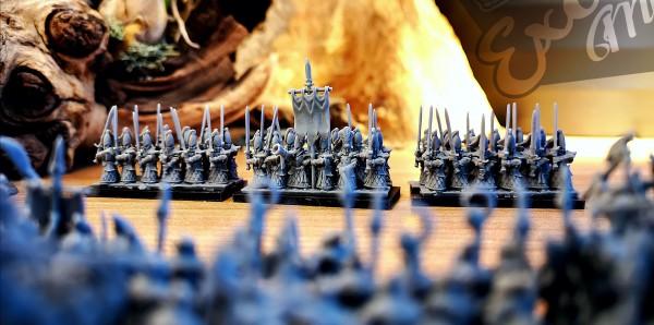 Noble Elves - Full Elite Greatswords Regiment XM