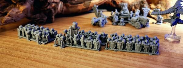 Dwarven Lords - Full Heavy Warrior Regiment 1 (keg)
