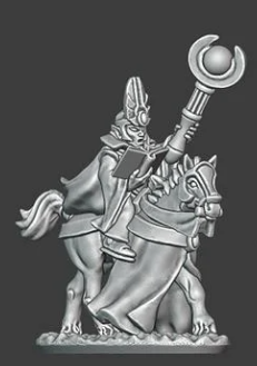 Noble Elves - Archmage on Horse