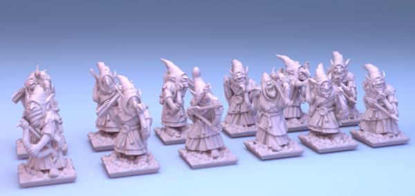 Orcs&Goblins - Individual Goblin Archers 1