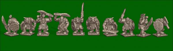 Orcs&Goblins - Individual Orc Warriors 1