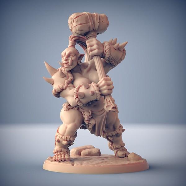 Ogre Marauder Lady - A