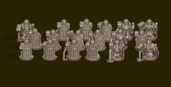 Dwarven Lords - Individual Heavy Warrior Pack